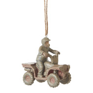 FOUR WHEELER MUDD ORNAMENT