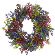 WREATH BERRY RA/PU 24""
