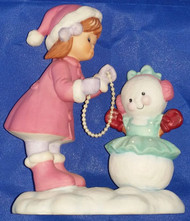 SISTERS742023 GIRL BUILG SNOWMAN