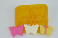 FLEX MOLD BUTTERFLY MINI X 4