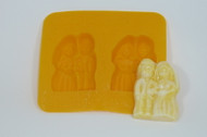 FLEX MOLD BRIDE AND GROOM X 2