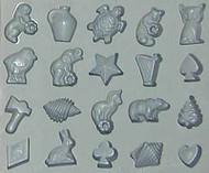 RUBBER CANDY MOLD NOVELTY ASSORTMENT
