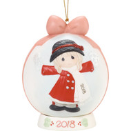 PM181003 2018 HAVE A MAGICAL HOLIDAY BALL ORNAMENT