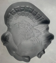 RUBBER CANDY MOLD TURKEY (LARGE)