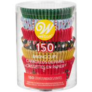 BAKING CUPS CHRISTMAS TRADATIONAL 150 CT