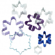 COOKIE CUTTERS SNOWFLAKES 7-PC SET