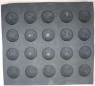 RUBBER CANDY MOLDS HAPPY FACE