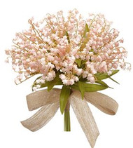 NOSEGAY LILY OF THE VALLEY BQT PINK