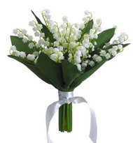 LILY OF THE VALLEY BQT 10""