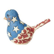 HWC6003978 FEATHERED IN FREEDOM RED WHITE AND BLUE BIRD