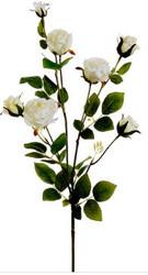 "ROSE SPRAY WHITE 28.7"""
