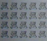 RUBBER CANDY MOLDS TEDDY BEAR 20 CAVITIES
