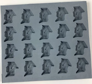 RUBBER CANDY MOLDS GRADUATE SILHOUETTE
