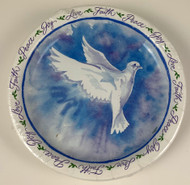 PLATES 7 INSPIRATIONAL DOVE 18 CT