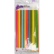 "LOLLIPOP TREAT STICKS  8"" MULTICOLORED 100 CT"