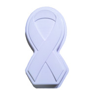 CAKE PAN AWARENESS RIBBON PLASTIC