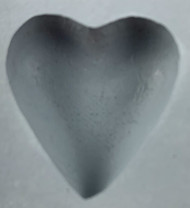 RUBBER CANDY MOLD HEART SMALL