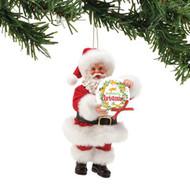 PD6002158 SANTA MEOWY CHRISTMAS ORN