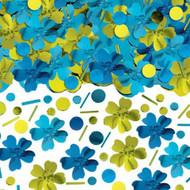 CONFETTI HIBISCUS BLUE