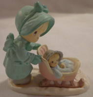 PM MINIATURE JANUARY FIGURINE ARTPLAS