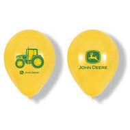 "BALLOONS JOHN DEERE LATEX 12"" 8 CT"