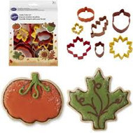 COOKIE CUTTERS AUTUMN SET OF 7