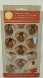 ICING DECO TURKEY ROYAL ICING 12 CT
