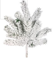 PINE SPRAY BLACKMORE SNOW 18""