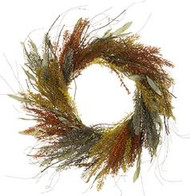 WREATH RATTAIL GRASSES 22""