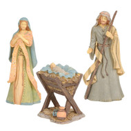 FND6004076 HOLY FAMILY NATIVITY SET/3