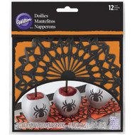 DOILIES SPRIDER WEB 6 in. 12 CT