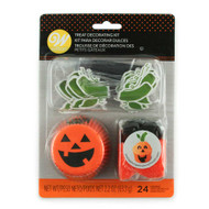 CUPCAKE DECORATING KIT HALLOWEEN 24 SETS