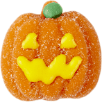 GUMMY DECORATIONS JACK-O-LANTERN PUMPKIN 8 CT
