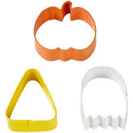 COOKIE CUTTERS SET PUMPKIN, GHOST, CANDY CORN