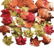 CONFETTI FALL LEAVES EMBOSSED .5 OZ.