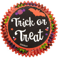 BAKING CUPS TRICK OR TREAT 75 CT