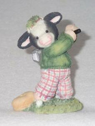 "MM485047""MY HATS TO MOO""  MALE GOLFER"