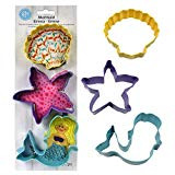 COOKIE CUTTERS SET SEA LIFE 3 DESIGNS
