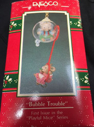 TRS575038 BUBBLE TROUBLE ORNAMENT
