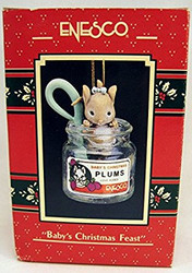 TRS565040 BABY'S CHRISTMAS FEAST ORNAMENT