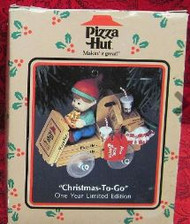 TRS595217 CHRISTMAS TO GO ORNAMENT