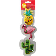 COOKIE CUTTERS TROPICAL 3-PC