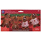 COOKE CUTTERS SET GINGERBREAD FAMILY 4PC