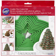 COOKIE CUTTER TREE KIT10 STAR CUTTERS