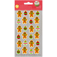 ICING DECO GINGERBREAD BOY & ORN 24 CT