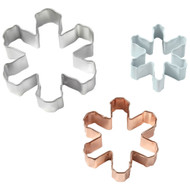 COOKIE CUTTERS SNOWFLAKE ASST 3 PC