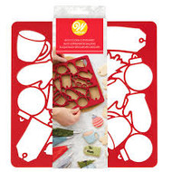 COOKIE CUTTER MULTI PLASTIC CHRISTMAS
