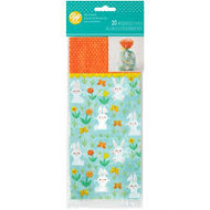 PARTY TREAT BAGS BUNNY PATCH 20 CT
