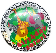 PLATES 9 BIRTHDAY SAFARI 8 CT
