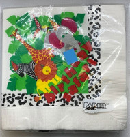 LN NAPKINS BIRTHDAY SAFARI 16 CT